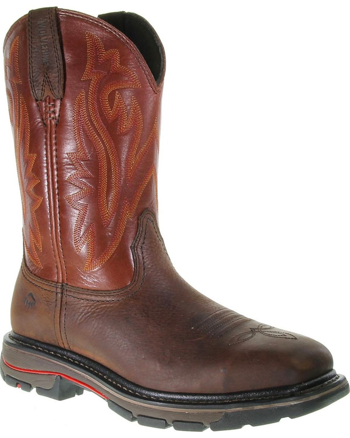 c62a81f2866 Wolverine Men's Javelina Steel Toe Work Boots