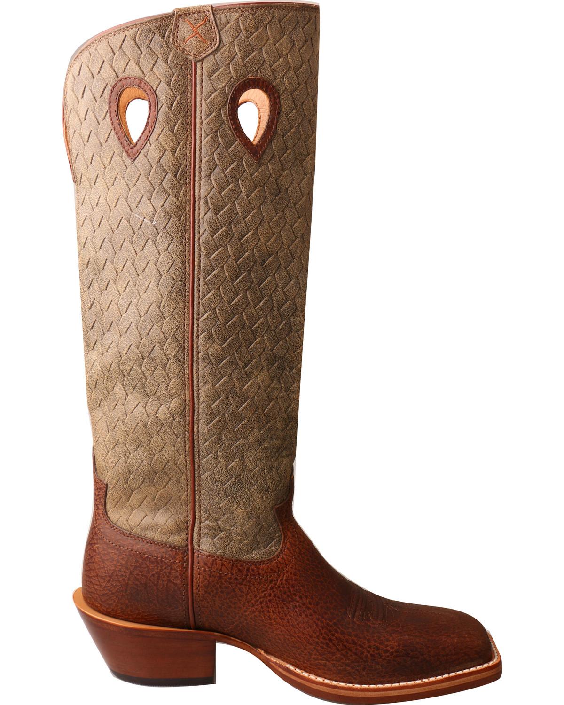 Twisted X Men S Tall Basketweave Buckaroo Cowboy Boots