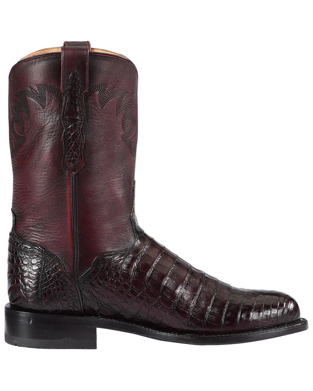 #31138-A07 | Color Black Cherry Mens Coronado Acapulco Mens Ankle Boots Square Toe