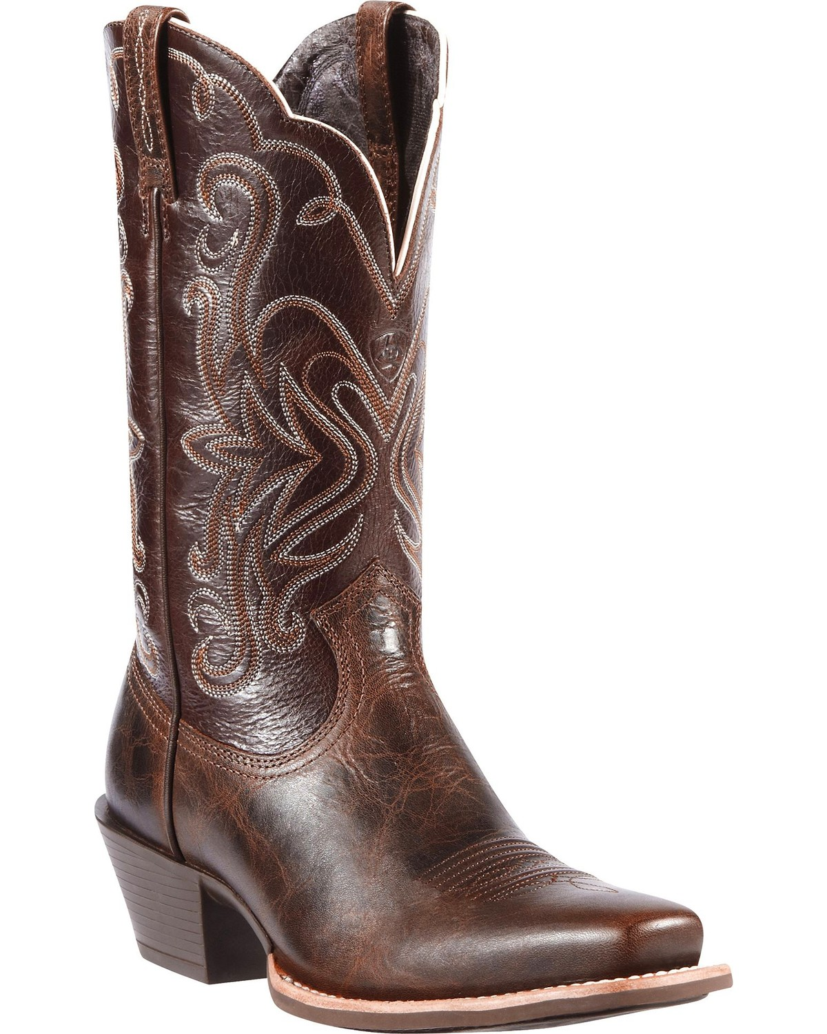 Ariat Legend Chocolate Chip Cowgirl Boots Snip Toe