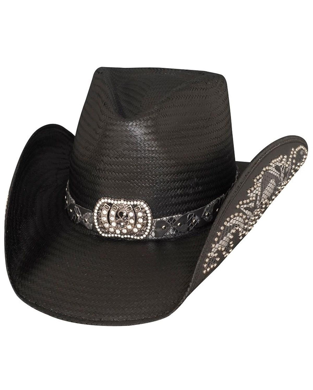 996416b5a901c Bullhide Women s Cowgirl Fantasy Straw Hat