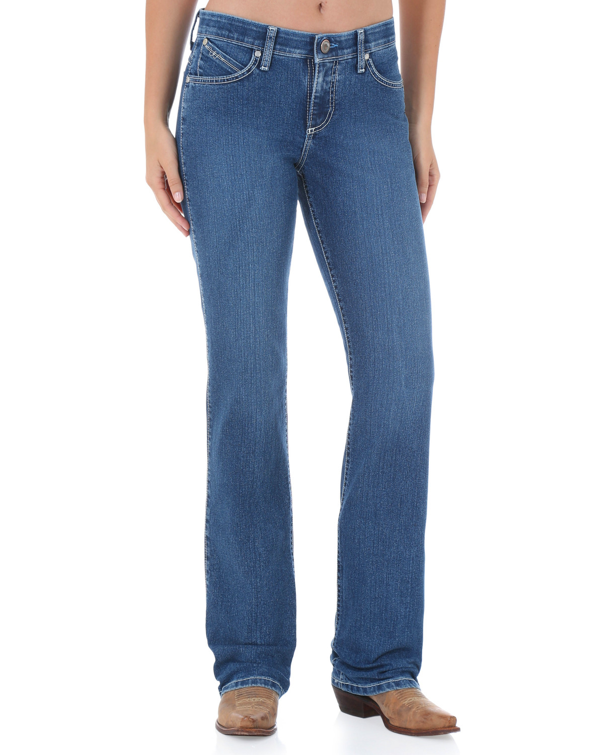 Wrangler Women S Q Baby Cool Vantage Ultimate Riding Jeans Boot Barn