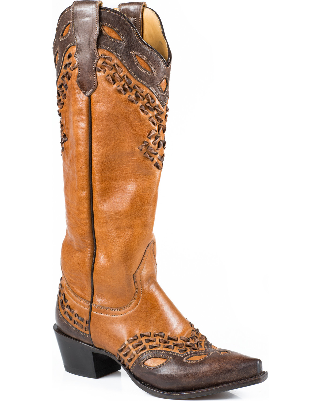 950212ec6e7 Stetson Women's Alexa Snip Toe Western Boots