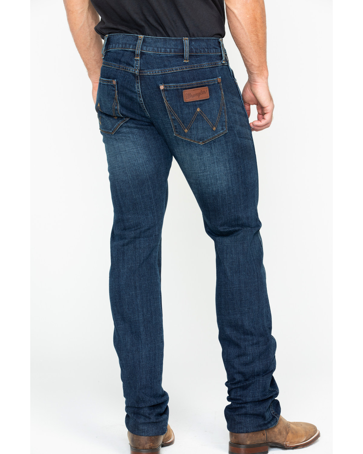 new style & luxury really comfortable best wholesaler Wrangler Retro Men's Anderson Low Rise Skinny Jeans