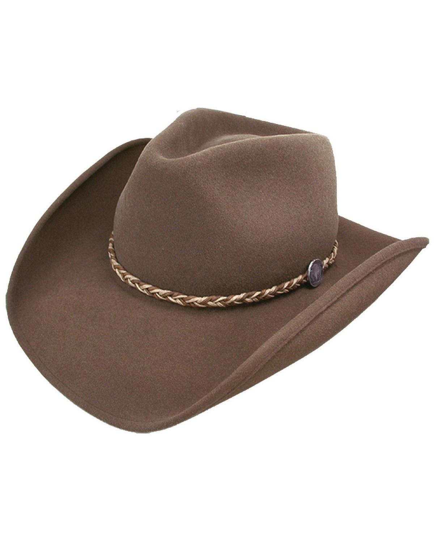 958cb6b922 Stetson Rawhide 3X Crushable Buffalo Fur Felt Hat