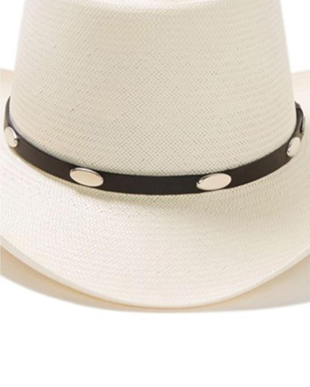 Stetson Royal Flush 10X Shantung Straw Cowboy Hat  687184e5bc6