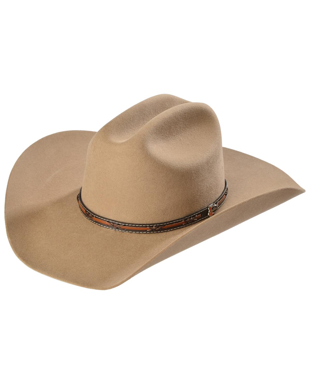 Justin Men s 2X Gallop Wool Cowboy Hat  2d35159cf3f