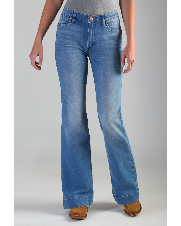 dffc796b74b Wrangler Retro Women s High Rise Vintage Trouser Jeans