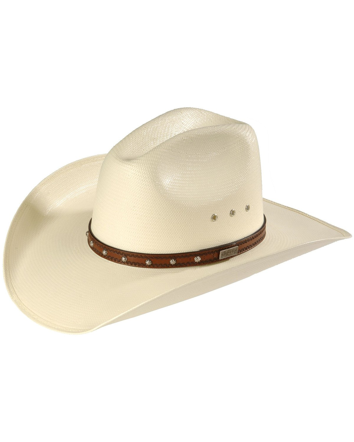 Larry Mahan Browning 10X Straw Cowboy Hat  1400215a45d