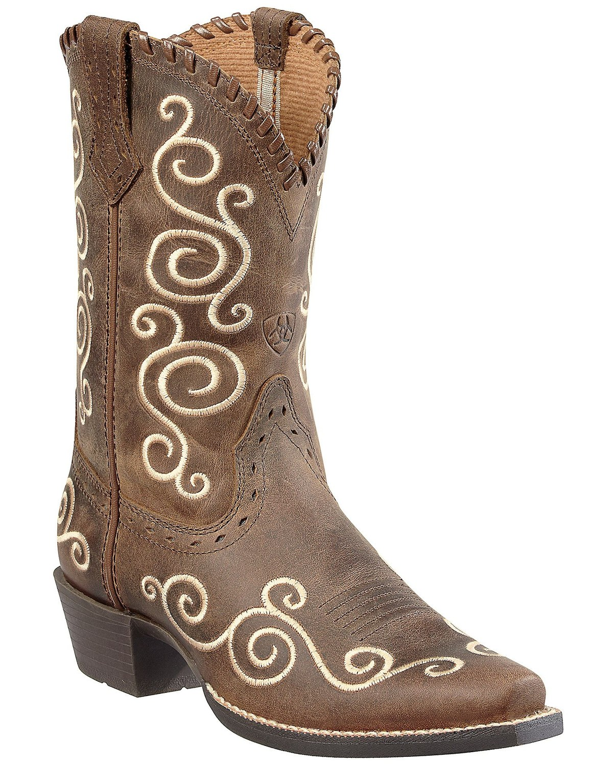 59c2350b0 Ariat Youth Girls  Shelleen Cowgirl Boots - Snip Toe